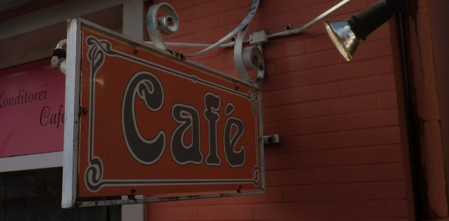 Cafe Schild